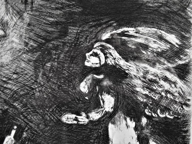 l' Ivrogne et sa Femme - Modern Print by Marc Chagall