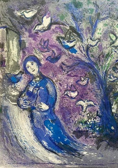 """""""La Chasse aux Oiseaux (The Bird Chase),"""" Daphnis et Chloé (Cramer 46), Diptych"""