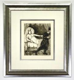 """Marc Chagall """"La femme de Potiphar Sorlier 218"""""""