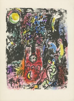 """L'Arve de Jessé (The Tree of Jesse) M 297,"" Original ColorLithograph by Chagall"