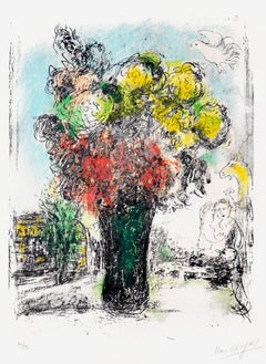 Le Bouquet Rouge et jaune (Red and Yellow Bouquet), 1974