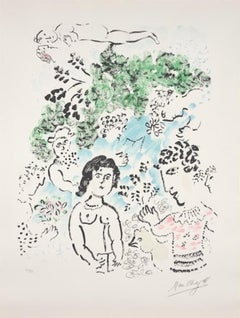 Le Branche Vert, Hand-Signed, Limited Edition Lithograph