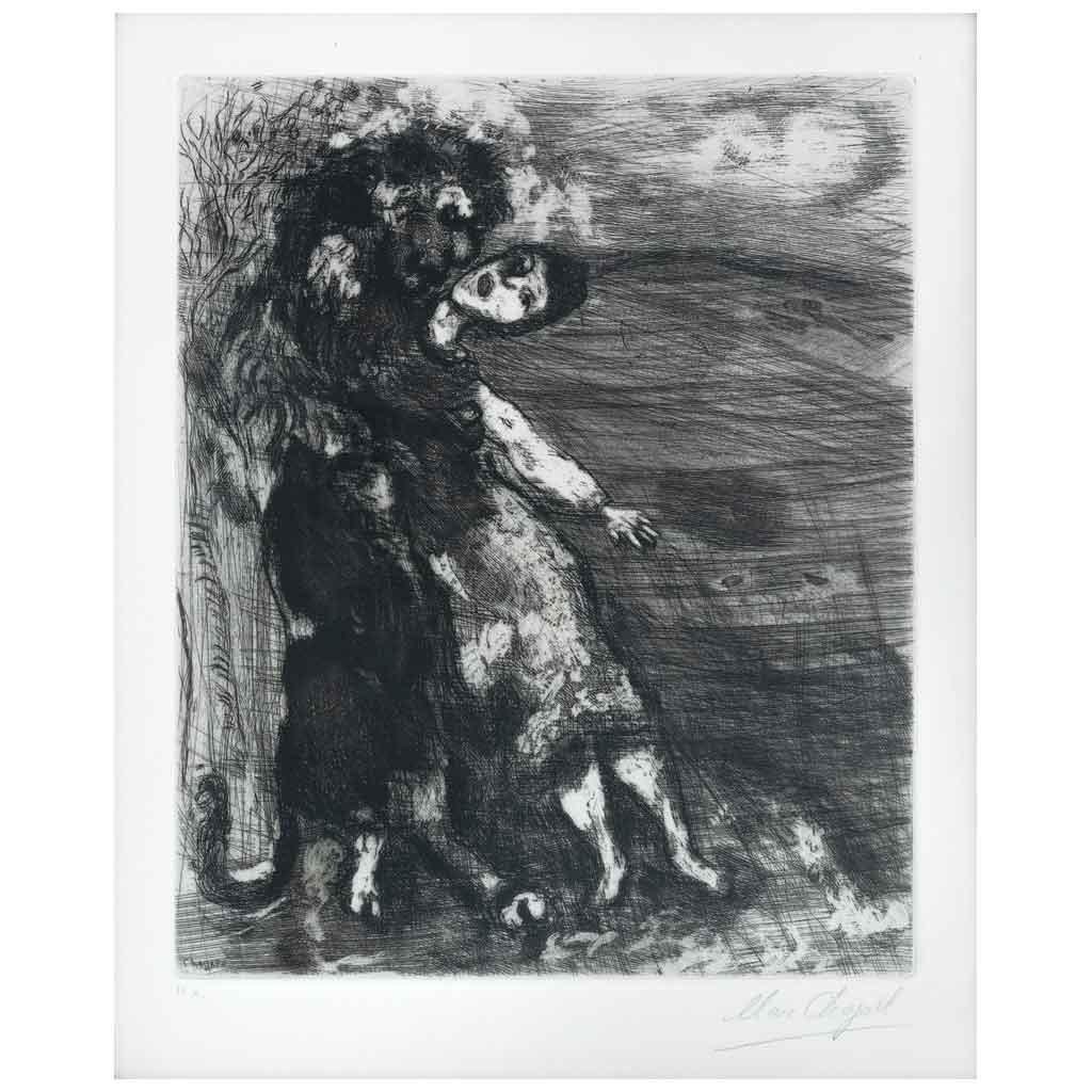 Le Lion Amoureux, de la serie Les Fables de La Fontaine,1952