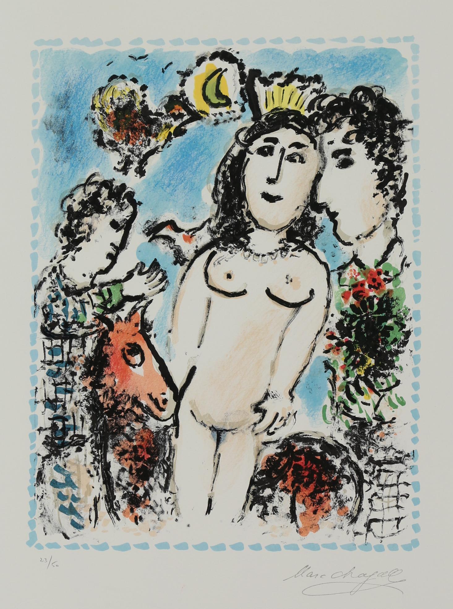 Le Nu Couronne, Limited Edition Lithograph