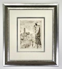 "Marc Chagall ""Le roi David Sorlier 266"""