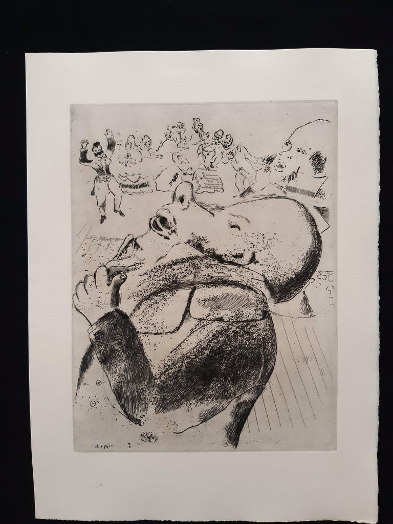 Les Ames Mortes by N. Gogol - Complete Suite by Marc Chagall - 1948  For Sale 10