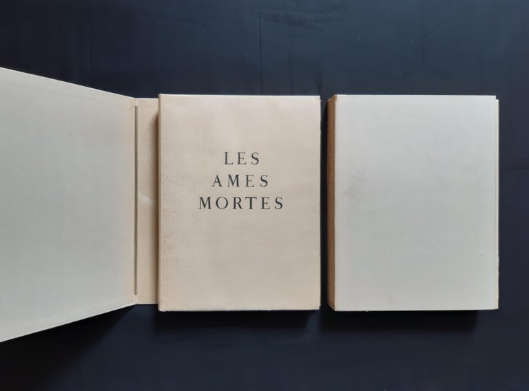 Les Ames Mortes by N. Gogol - Complete Suite by Marc Chagall - 1948  For Sale 4