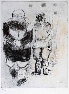 L'Homme sans Passeport Devant le Capitaine Ispravnik