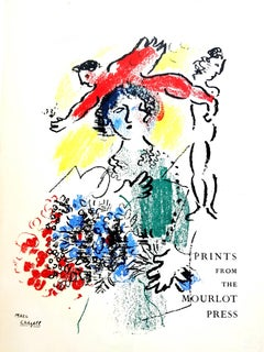 Marc Chagall - Cover - Original Lithograph