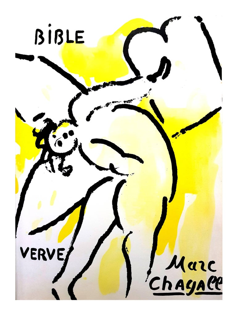 Marc Chagall - The Bible - Original Lithograph For Sale 2