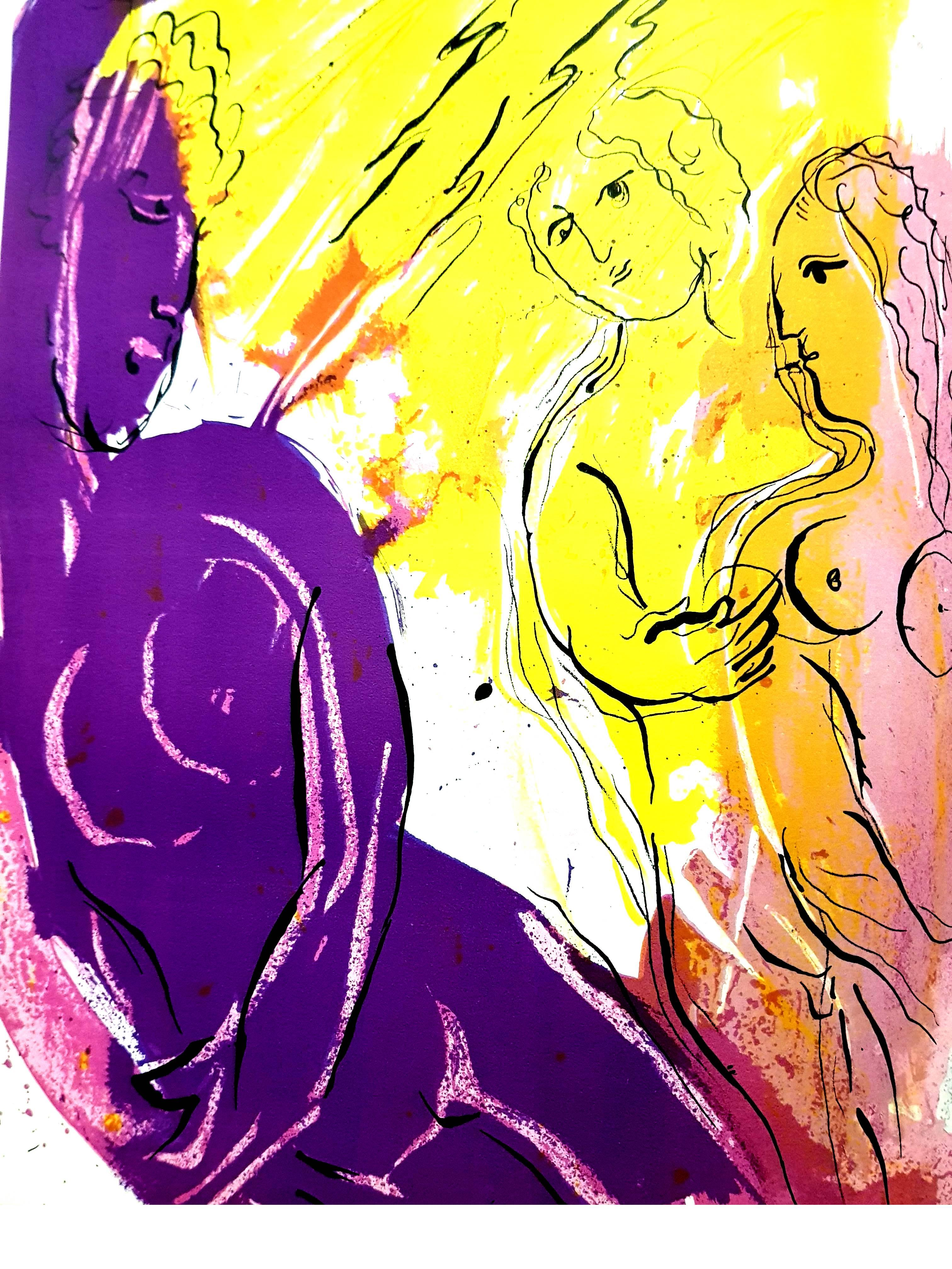 Marc Chagall - The Bible - Original Lithograph