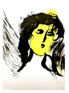 Marc Chagall - Woman Angel - Original Lithograph