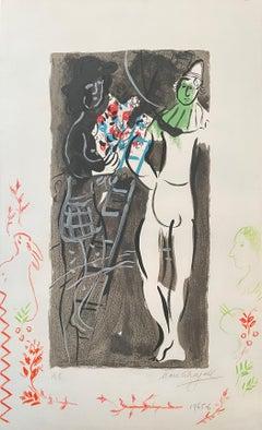 "Marc Chagall, ""Entree en piste"""