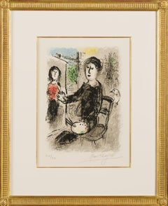 Marc Chagall, Frontispiece from Les Ateliers de Chagall, 1976, (215/250)