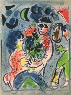 """Marc Chagall, """"Frontispiece"""", lithograph, 1969"""
