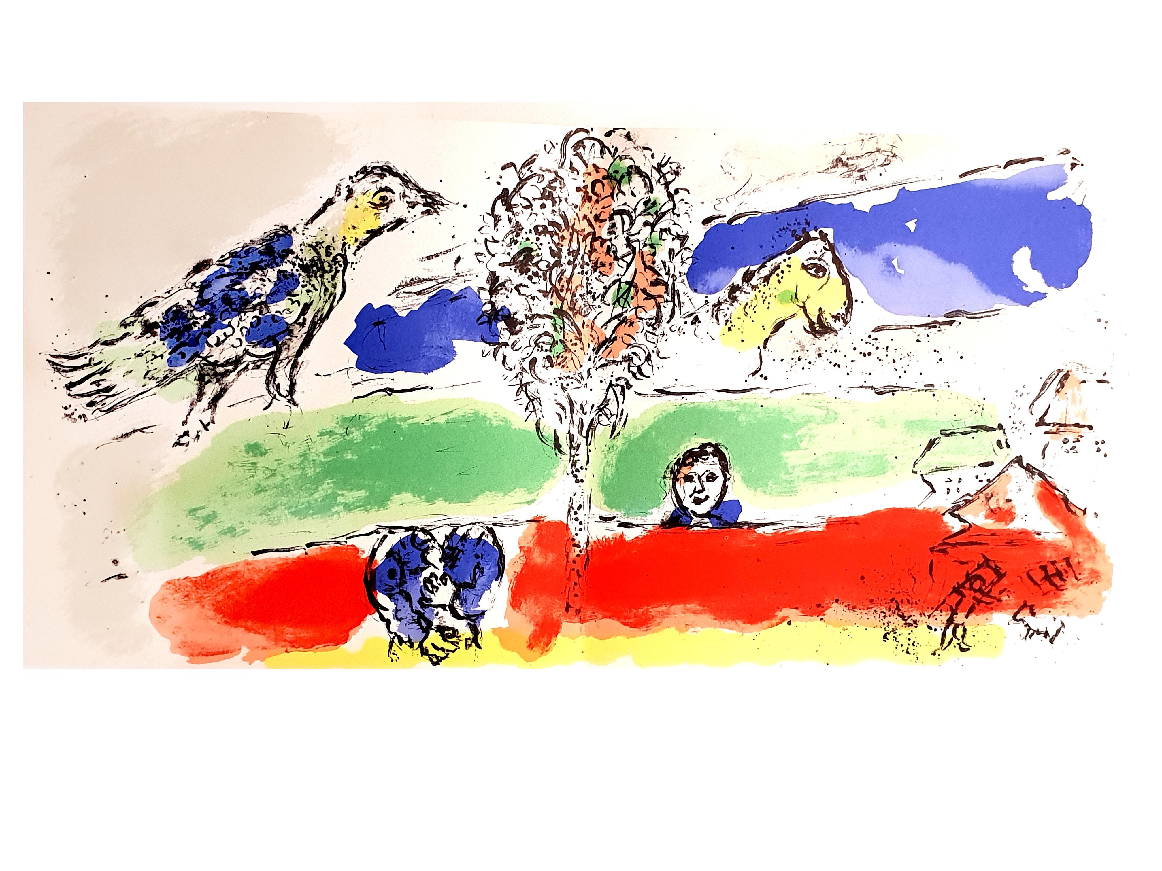 Marc Chagall - Green River - Original Lithograph