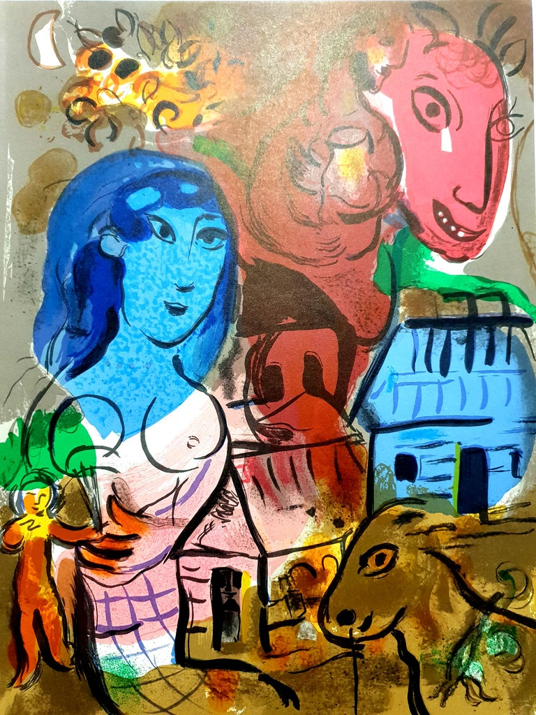 Marc Chagall - Homage to Marc Chagall - Original Lithograph - Print by Marc Chagall