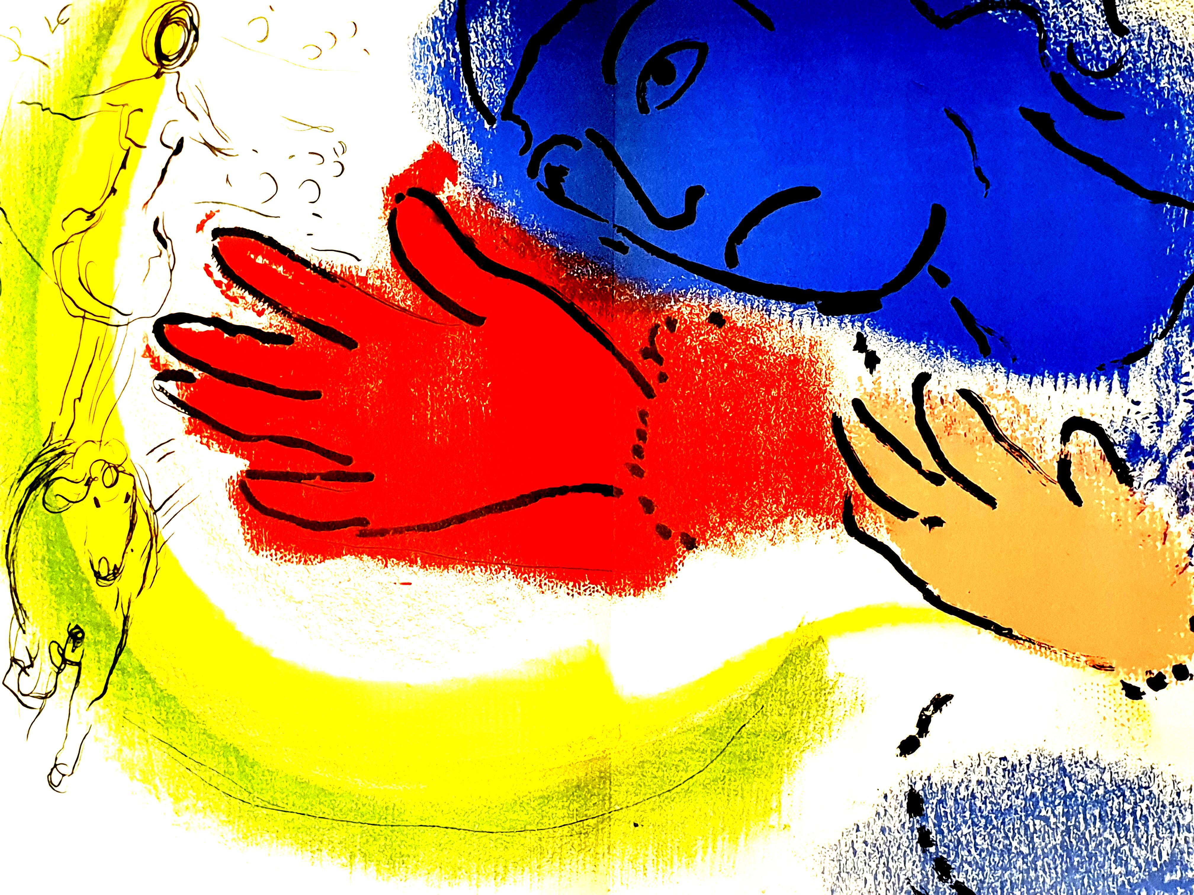 Marc Chagall - Horsewoman - Original Lithograph