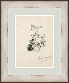 MARC CHAGALL  LE ROI DAVID  1974 SIGNED AND NUMBERED