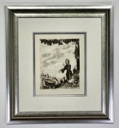 """Marc Chagall """"Moise sauve des eaux  Sorlier 224"""""""