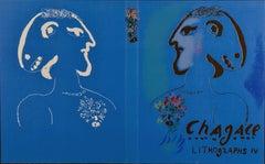 "Marc Chagall, ""Original Lithograph Book 4"" 2Original Lithograph 12 1/2 x 21"