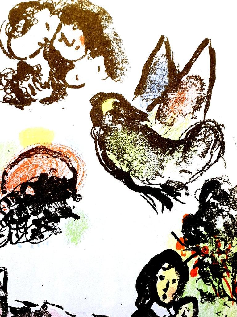 Nocturne à Vence, original lithograph from