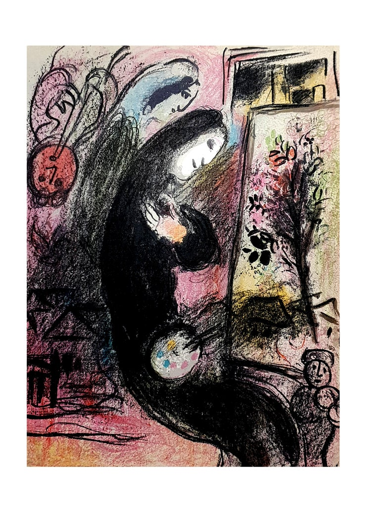 Marc Chagall - Inspiration - Original Lithograph from