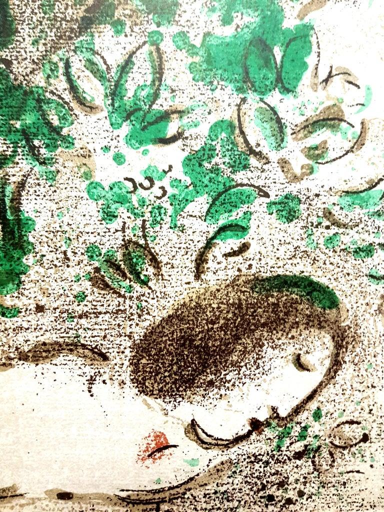 Marc Chagall - Paradise - Original Lithograph - Modern Print by Marc Chagall