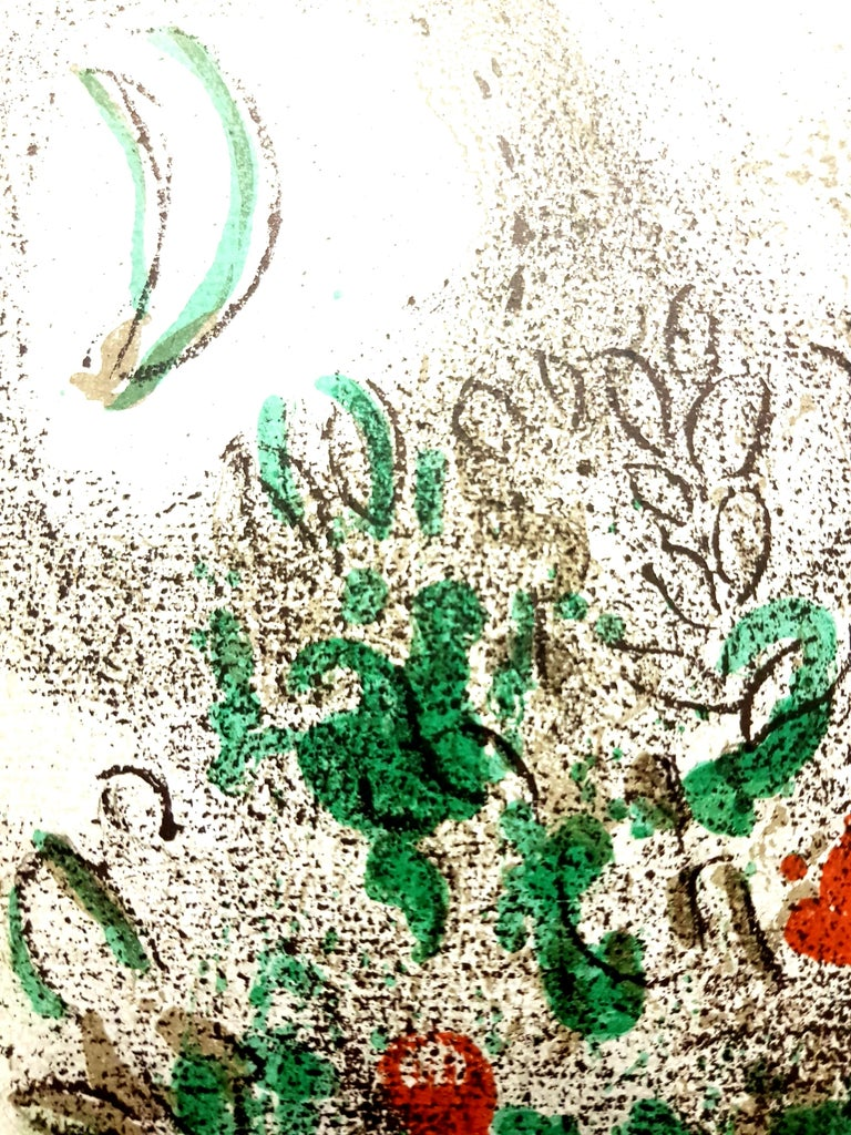 Marc Chagall - Paradise - Original Lithograph For Sale 1