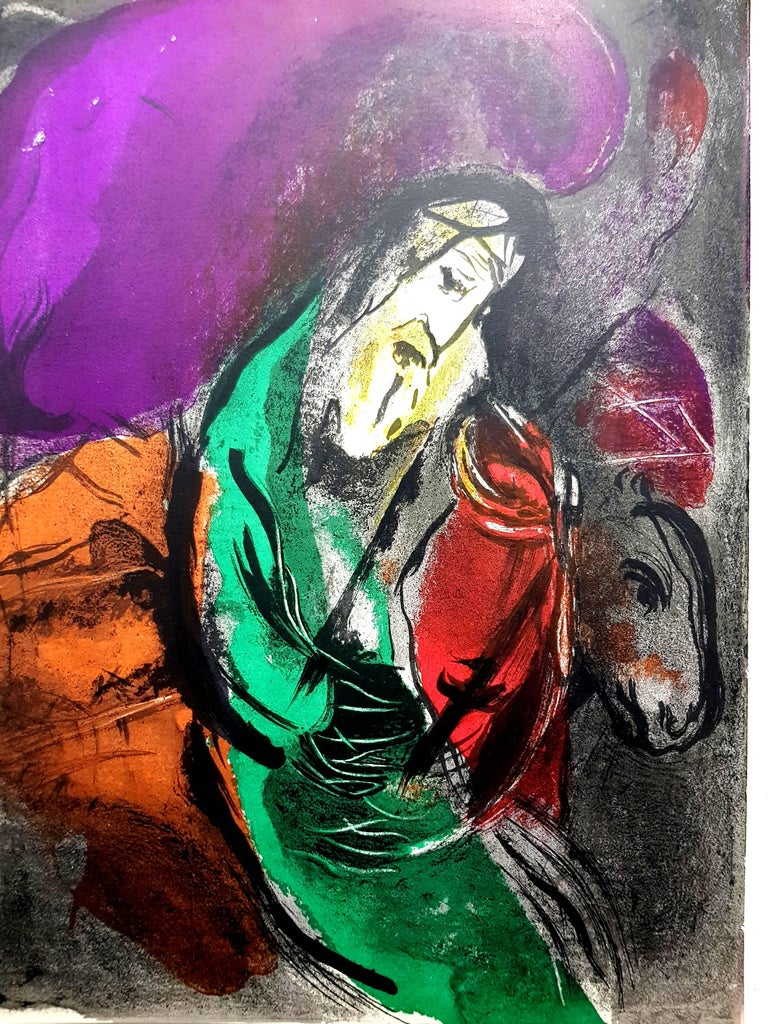 Marc Chagall - The Bible - Original Lithograph - Print by Marc Chagall