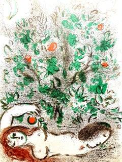 Marc Chagall - Paradise - Original Lithograph