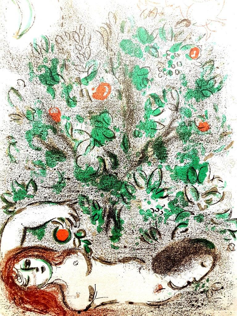 Marc Chagall - Paradise - Original Lithograph - Print by Marc Chagall