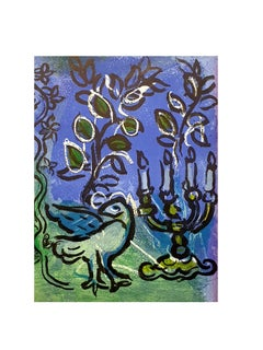 Marc Chagall - The Candlestick - Original Lithograph