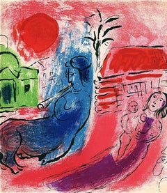 Maternite au Centaure, 1957 Limited Edition Lithograph, Marc Chagall