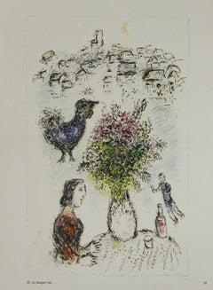 Maternite Rouge & Le Bouquet Rose: Lithographs from Derriere Le Miroir