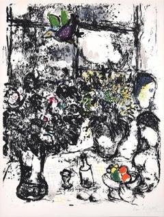 Nature morte au bouquet (Still Life with Bouquet), 1960