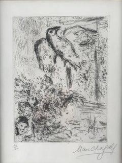 Marc Chagall, Nature Morte au Grande Oiseau