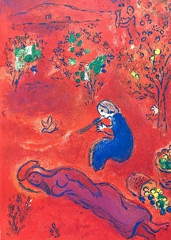 Noon in Summer, Daphnis & Chloe 1977 Limited Edition, Marc Chagall