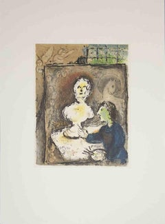 Odyssey - Original Lithograph after Marc Chagall - 1989