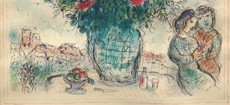 Original Marc Chagall 1978 Céret Musée d'Art Moderne Exhibit Poster For Sale 3
