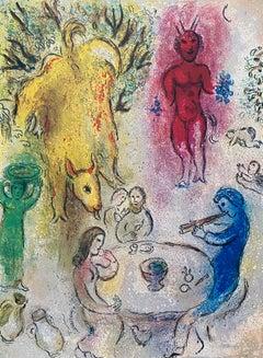 """""""Pan's Banquet,"""" Daphnis et Chloé (Cramer 46)"""