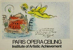 Paris Opera Ceiling - Institute of Artistic Achievement.