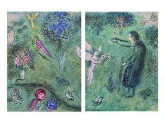 """""""Philetas Orchard,"""" Daphnis et Chloé, Diptych"""