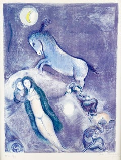 Marc Chagall, Plate 11 from Four Tales From The Arabian Nights