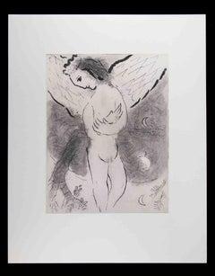Psalm - Original Héliogravure by Marc Chagall - 1960s