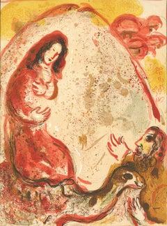 """""""Rachel Dérobe les Idoles de son Père (Rachel Hides her Father's Idols)"""" Chagall"""