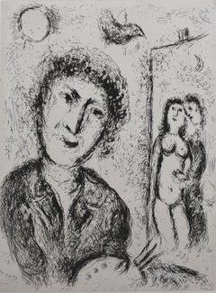 Self Portrait with Easel  Autoportrait au Chevalet