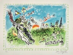 Songe d'Ete, Lithograph in colors