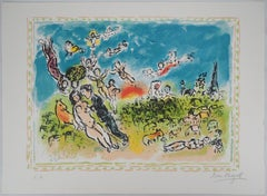 Summer Dream (The Joy) - Original lithograph, Handsigned (Mourlot #1005)