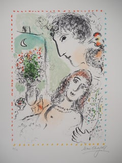 Tenderness - Original lithograph, Hand Signed and Numbered / 50 (Mourlot #1020)